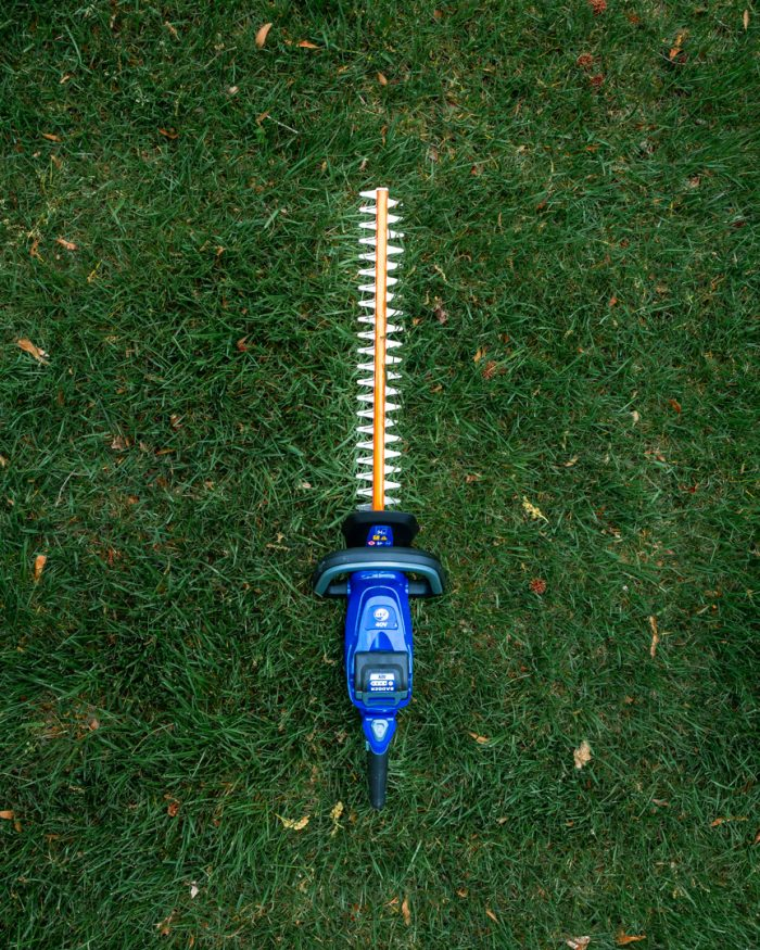40 Volt Hedge Trimmer from Wild Badger Power top down