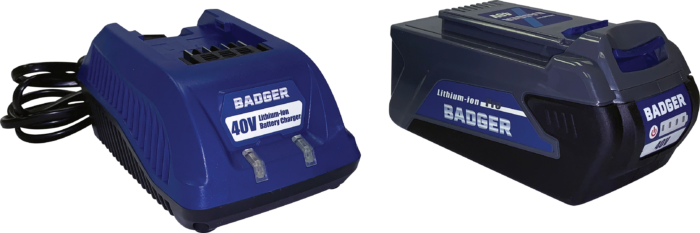 40V Batteries for Wild Badger Power Outdoor Equipment