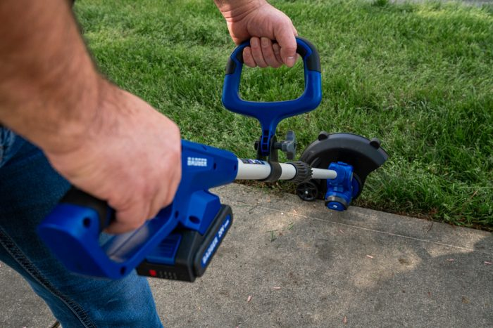 20Volt String Trimmer/Edger from Wild Badger Power in use