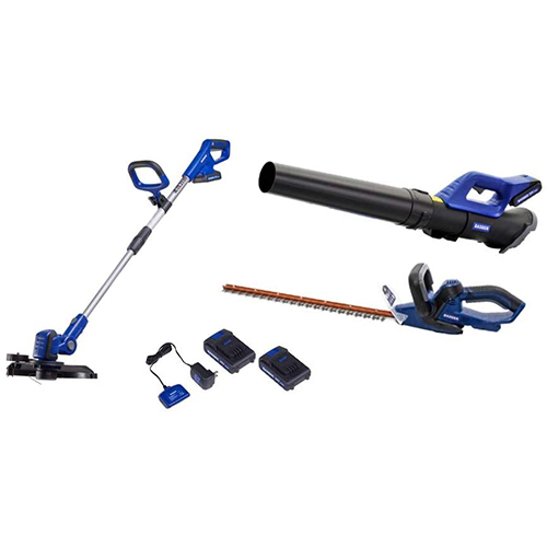 RS - 3 Tool 20V Combo - String Trimmer, Jet Blower and Hedge Trimmer