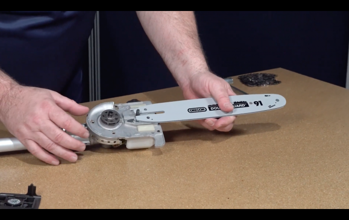 How to Assemble the Wild Badger Articulating and Fixed Pole Saw Attachments