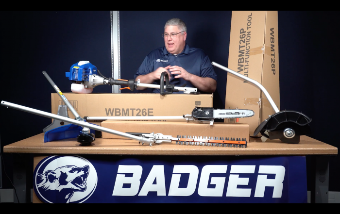 Wild Badger Power 4-in-1 Multi-Tool Kits with the 26CC 2-Cycle Powerhead